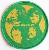 The Beatles - 'Group Faces' Woven Patch